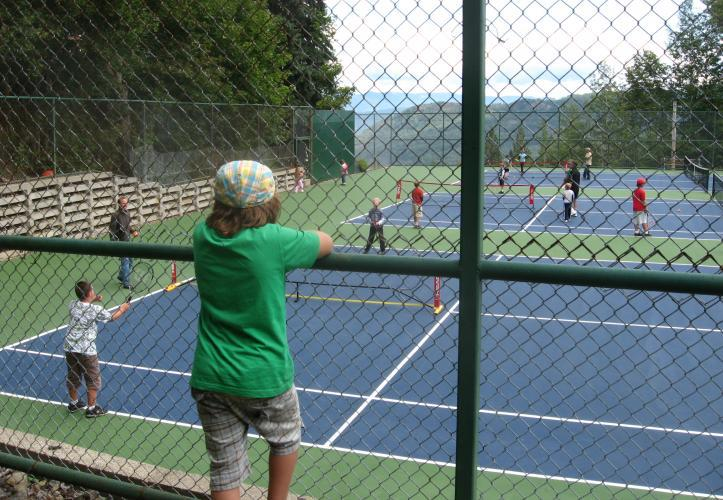 Rossland Tennis Kids Fun Game