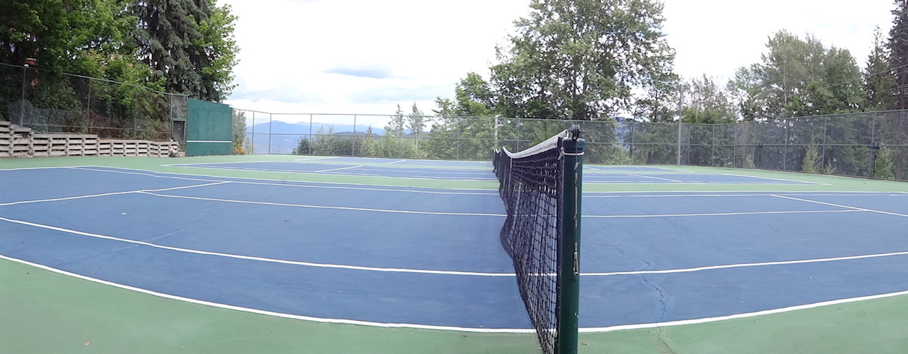 Rossland Tennis Court